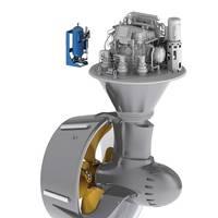 SCHOTTEL LEACON sealing system with SCHOTTEL Rudderpropeller (Image: SCHOTTEL GmbH)