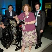 Science prize presentation: Photo credit Rolls-Royce