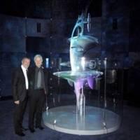 'Sea Orbiter' Model: Photo courtesy of SeaOrbiter Project
