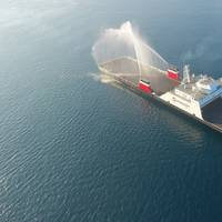 Seaspan Swift - a new hybrid LNG fuelled and battery powered ferry Photo Seaspan