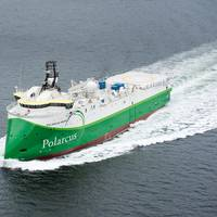 Seismic vessel Polarcus Amani was delivered from ULSTEIN on March 29 (Photo: Ulstein).