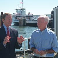 Sen. Richard Blumenthal (left) and Rep. Joe Courtney (Photo: American Maritime Partnership)