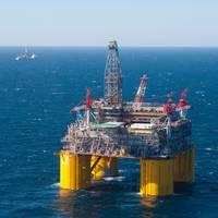 Shell's Olympus Platform - Credit: Shell