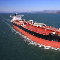SHI-built shuttle tanker for a North American shipowner. Photo: Samsung Heavy Industries
