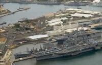 Shipyard – Pearl Harbor: Photo credit USN
