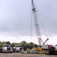 Signet's Link Belt Model 238 HSL crawler crane
