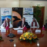 Signing ceremony: Image courtesy of Nakilat