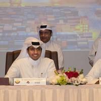 Signing of an agreement between Mwani Qatar and Milaha Photo Milaha