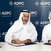 Signing the agreement: Photo credit ADPC
