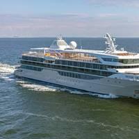 Silver Origin on sea trials (Photo: Silversea Cruises)
