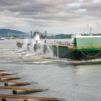 Skagway Provider was launched in Portland, Ore. on July 7 (Photo: The Greenbrier Companies)