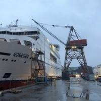 Smyril Line's ro-pax ship Norröna has been retrofitted with nearly $16m in upgrades. Photo courtesy Smyril Line