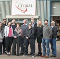 Staff at Global's headquarters in Exeter (Photo: Burgess Marine)