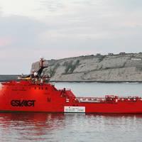 standby vessel 'Esvagt Aurora'
