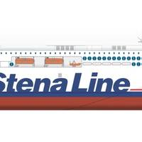 Stena Line ro-pax newbuild to be built at AVIC Weihai Shipyard (Image: Deltamarin)