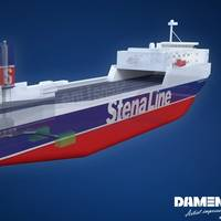 Stena Scotia - artist impressions (Photo: DGS)