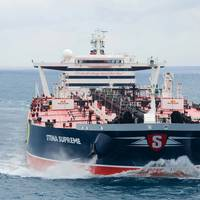 Stena Supreme, a Suexmax vessel owned by Concordia Maritime and employed on the spot market via Stena Sonangol Suezmax Pool controlled by Stena Bulk and the Angolan state oil company Sonangol (Photo courtesy of Concordia Maritime)