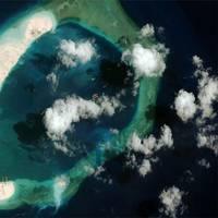 Subi Reef (Photo: CSIS Asia Maritime Transparency Initiative/DigitalGlobe)