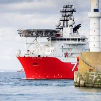 Subsea 7's diving support vessel Seven Kestrel (Care of Subsea 7)