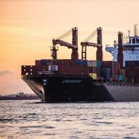 Swire Shipping's first 2,400 TEU newbuild, MV Changsha. (Photo: Swire Shipping)