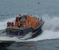 Tamar-class Lifeboat: Photo credit Geograph CCL Stephen McKay