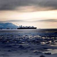 Tankship on NSR: Photo courtesy of Gazprom