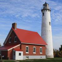 Tawas Point Lighthouse (Photo: Michigan History Center)