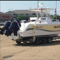 The 29-foot fishing charter boat Reel Deep went missing Monday, July 28, 2014. (USCG photo)