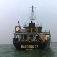 The Abandoned Cargo Ship: Photo credit VNA