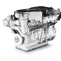 The C9 650 is capable of delivering maximum power of 650 hp at 2,530 rpm and maximum torque of 2,150 Nm at 1,700 rpm.