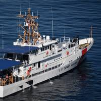 The Coast Guard Cutter Benjamin Bottoms is a Fast Response Cutter built by Bollinger Shipyards. (Photo: Patrick Kelley / U.S. Coast Guard)
