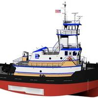 The Entech Designs tugs will be built by Conrad's Morgan City Shipyard for Harley Marine Services. (Image: Entech Designs)