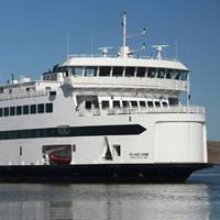 The existing Island Home ferry