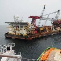 The Fairmount Summit towing the barge Acergy Polaris (Photo: Fairmount Marine).