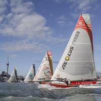 The fleet left Auckland for Itajai - Photo by Volvo Ocean Race
