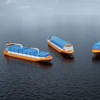 The four new Wärtsilä container feeder vessel designs (Image: Wärtsilä)