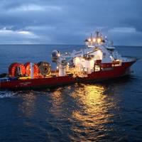 The Fugro Symphony cable-lay vessel (Photo: Fugro)