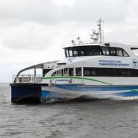 The Gladding-Hearn built ferry Champion is a milestone launch for marine design firm Incat Crowther (Photo: Incat Crowther)