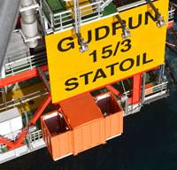 The Gudrun platform (Photo: Harald Pettersen/Statoil)