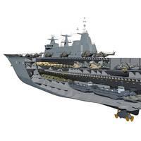 The HMAS Canberra (credit: Royal Australian Navy)