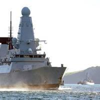 The HMS Daring (Photo: Royal Navy).