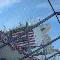 The Inouye: The Largest American-Made and American-Crewed Containership Ever Built (Image CREDIT: Marad)