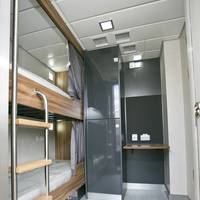 The interior of Ferguson Group's new 6m accommodation module