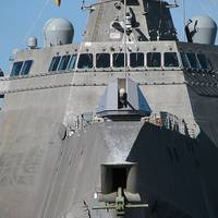 The littoral combat ship USS Independence (LCS 2). U.S. Navy photo by Doug Sayers