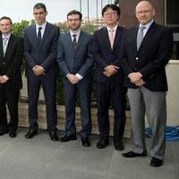 The LPGreen project partners from HHI, Wärtsilä, MAN Diesel & Turbo, CMM and DNV GL in Athens. Photo: DNV GL