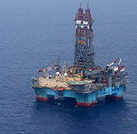 The Maersk Developer drilling rig. (Photo: Jonathan Bachman - AP - Statoil)