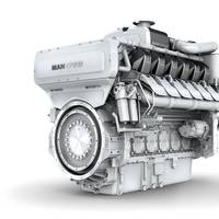 The MAN 175D engine (Image: MAN Diesel & Turbo)