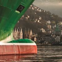 The maritime sector dominates the Bergen skyline, literally and figuratively, as the statistics to the right suggest.