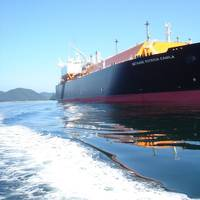 The Methane Patricia Camila. Image courtesy Silverstream Technologies/Shell