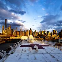 The Military Sealift Command hospital ship USNS Comfort (T-AH 20) has been providing medical relief to New York amid the coronavirus outbreak. (U.S. Navy photo by Scott Bigley)